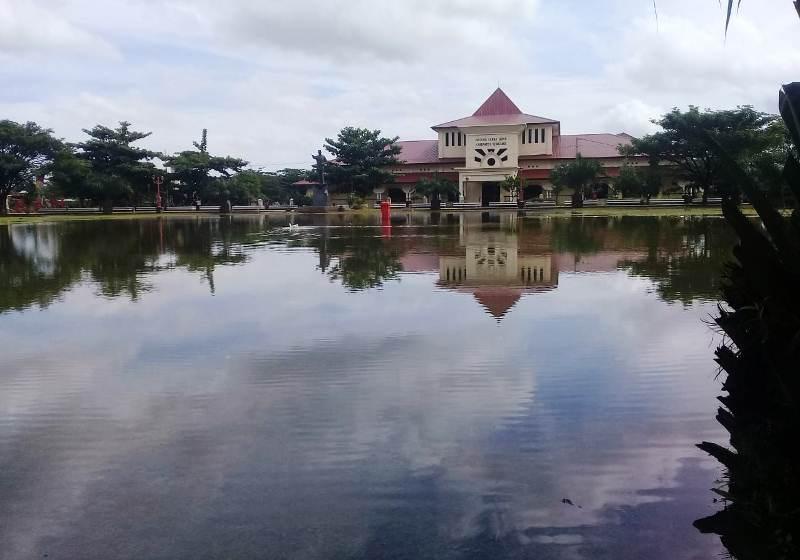 Muncul Danau Tiban Di Alun Alun Bung Karno Ungaran Begini Penjelasan Dinas Pariwisata Ungarannews